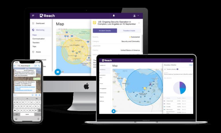 Reach by Intelyse, Travel Risk & Mass Notification System